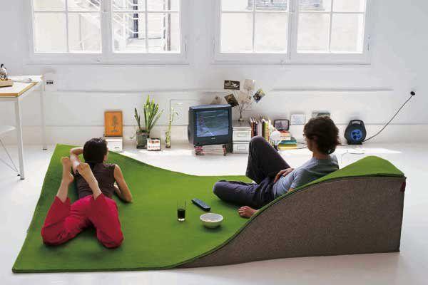 """Wer eine große Wohnung hat, für den ist dieser """"fliegende Teppich"""" genau das Richtige ! Eigentlich wollte ich den Bericht bei Inspirationen und Design reinsetzen, aber da kam mir die Idee: Warum nicht einfach selber machen??"""