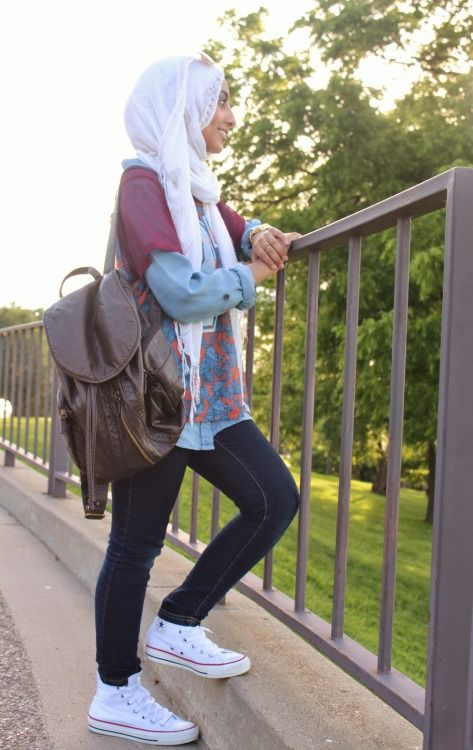 #hijabes #casualstyle #Heart it