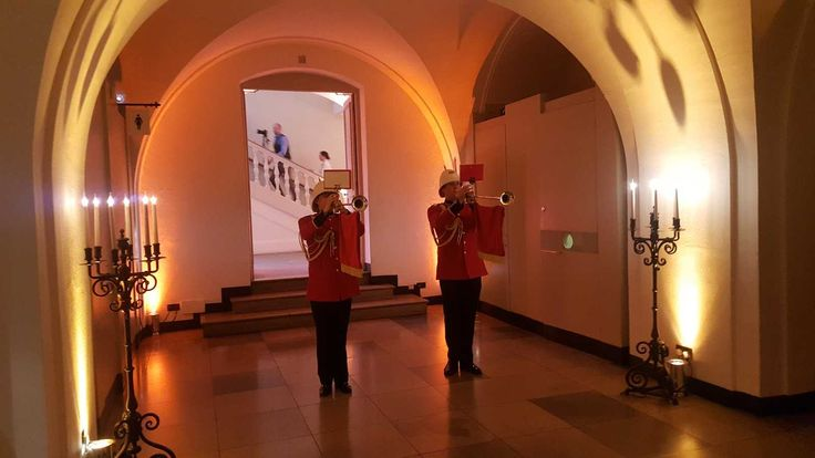 In Pictures: Fanfare Trumpeters And A Royal Herald @ Banqueting House