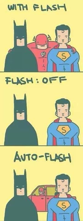 The Justice League With Flash ON & OFF Kelsang Metok: Geeky people tent to take things literally