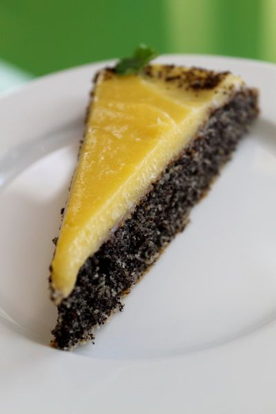 A deliciously rich Poppy-seed cake with lemon icing.