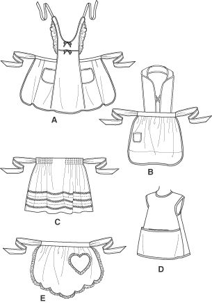 free apron patterns for kids   simplicity 4286 aprons for children aprons for children