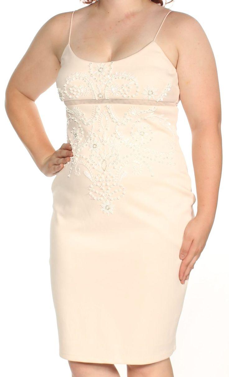 Adrianna papell sequin bodycon dress quartz older midi graduation