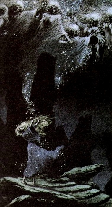 Artwork from Neil Gaiman's 'Stardust' illustrated by Charles Vess