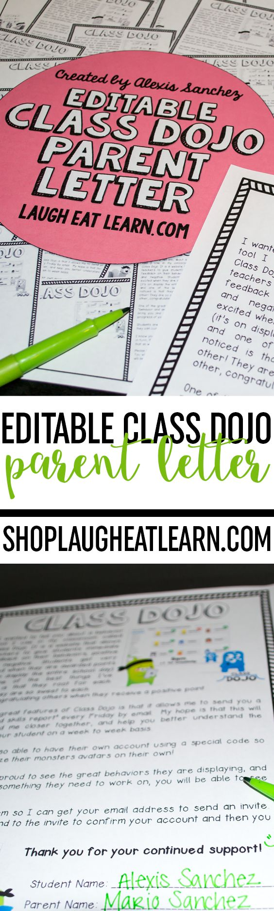 Best 25 Parent letters ideas on Pinterest  Kindergarten parent