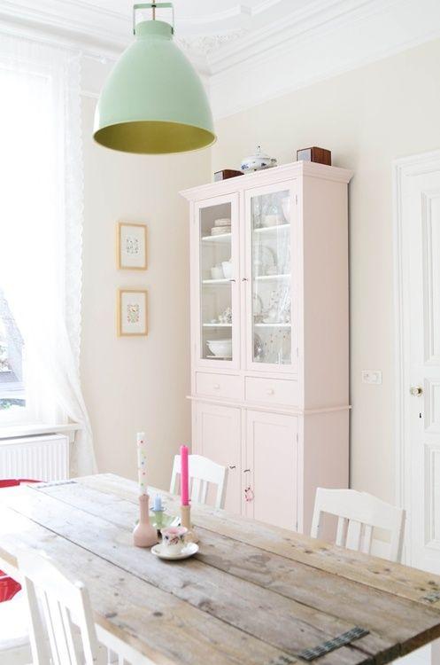 Pastel kleuren in huis