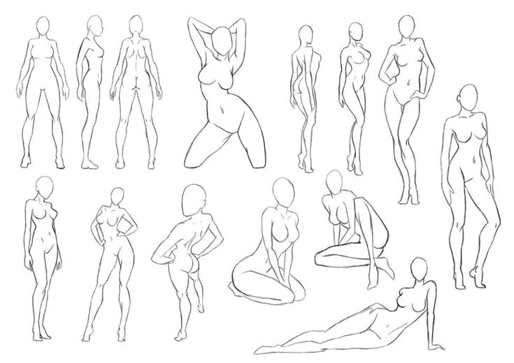 How To Draw A Nude Female 78