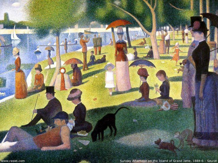 'Un domingo por la tarde en la isla de La Grande Jatte' de George Seurat.