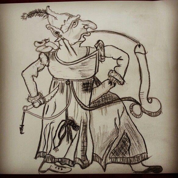 #Dali #charcoal #pencil #drawing