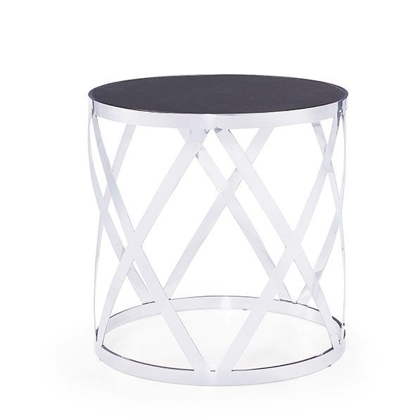 Blink Tribeca Silver Side Table