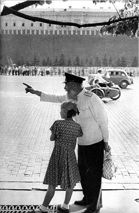 Red Square. Moscow, 1954    byHenri Cartier-Bresson