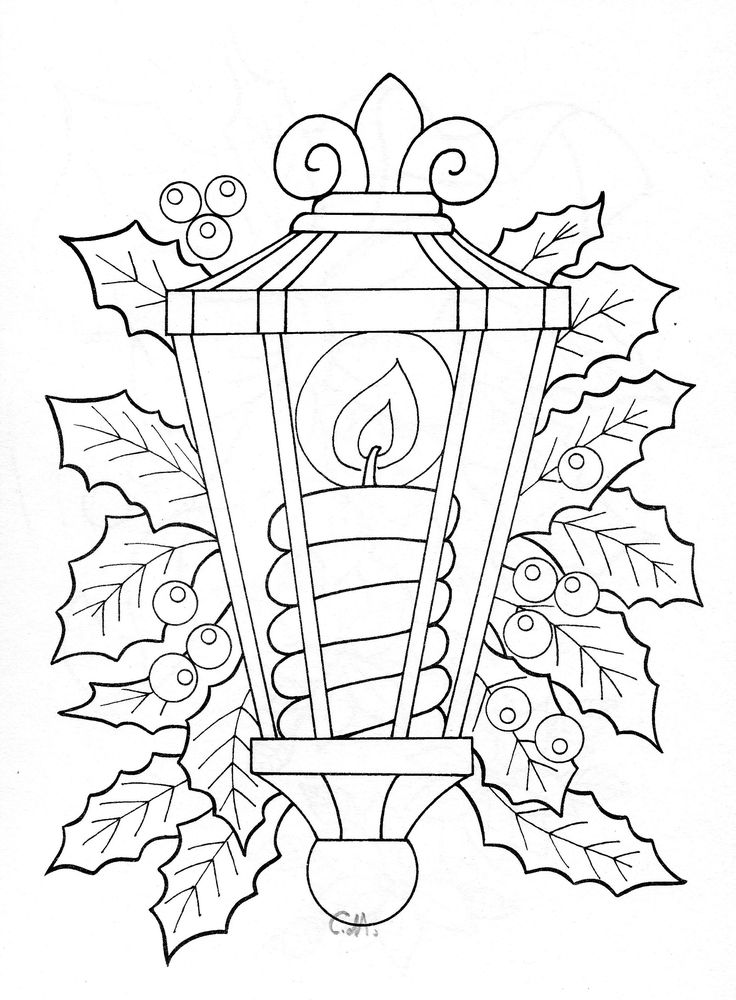 adult coloring pages  Lantern