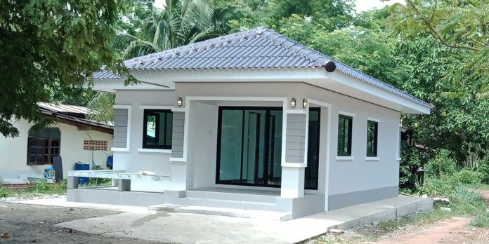 Comfort On A Budget Modern Bungalow House Plan With Two Bedrooms Ulric Home Modern Bungalow House Plans House Exterior Kerala House Design