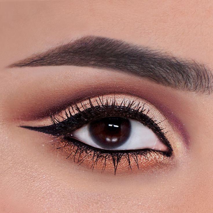 A cut crease eye made easy with our new #hrushxtarte palette! #tartecosmetics #hrushxtarte