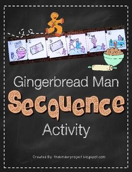 Gingerbread Man Sequencing Activity