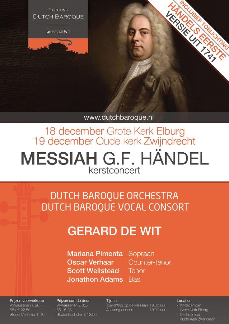 Kerstconcert de Messiah van Handel