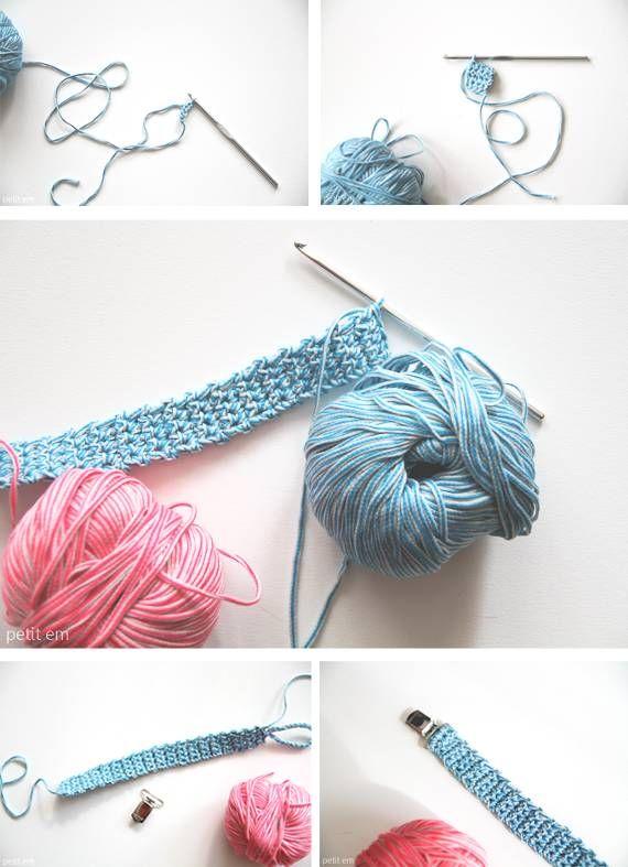 diy l 39 attache t tine en crochet de petit em crochet pinterest urgences bricolage et crochet. Black Bedroom Furniture Sets. Home Design Ideas