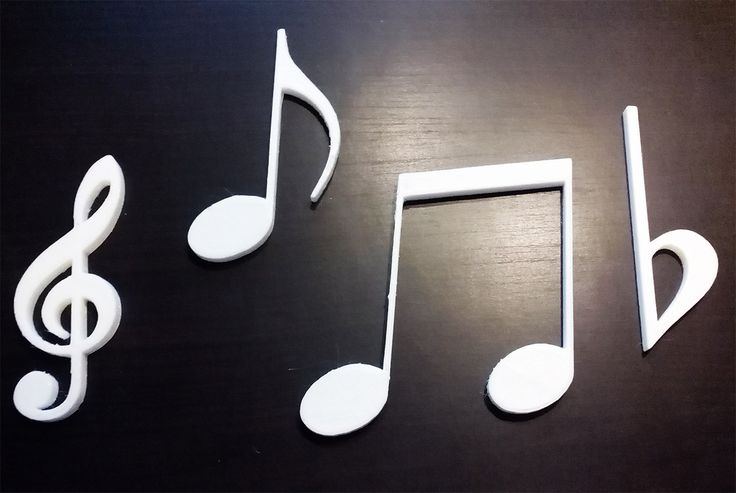 Note musicali chiave di violino decorazioni per decoupage