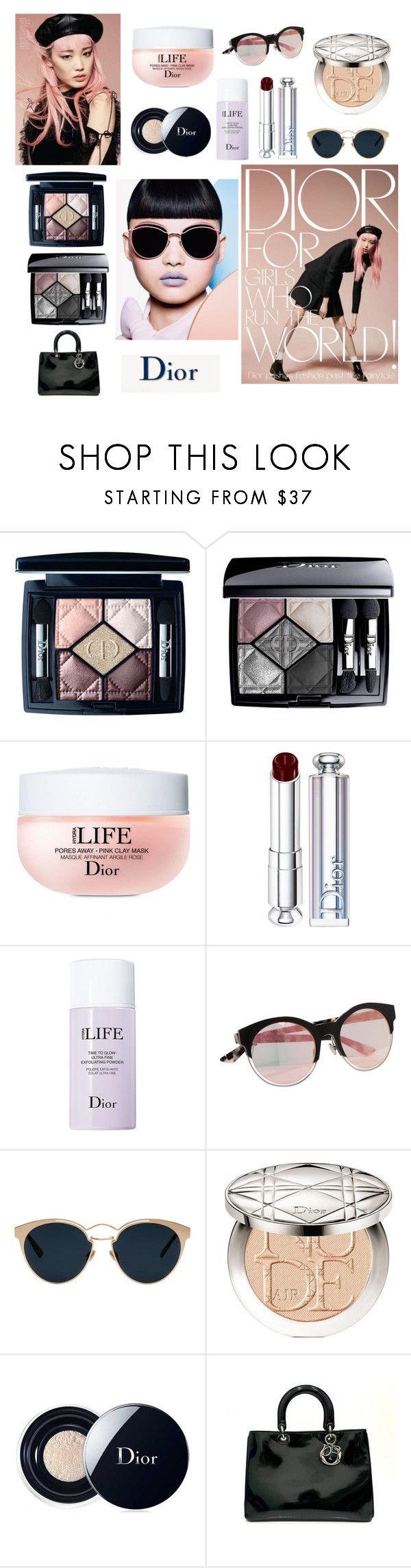 """Makeup Dior"" by snowflakes214247 ❤ liked on Polyvore featuring beauty and Christian Dior"