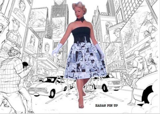 la elegancia y el galmour de los años 50 traídos al siglo XXI