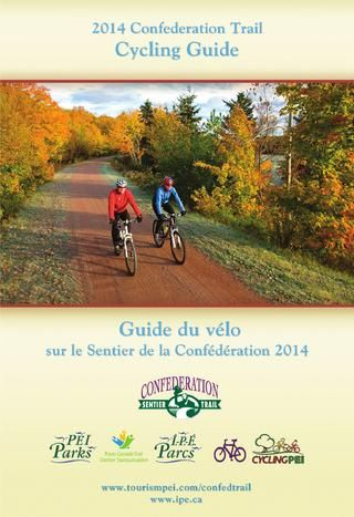 Confederation Trail PEI - Trail Map - Prince Edward Island, Canada