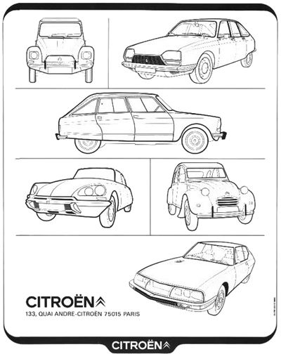 French all model advertisement from 1973