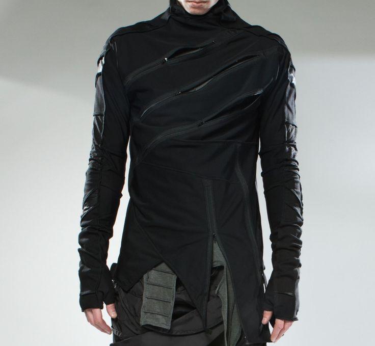 Demobaza | Top Channel 3 Techno Stretch Shirt