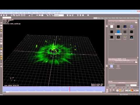Particle Effects for Games - Samples (magic, thunder, tornado, projectile, wormhole ..) - YouTube
