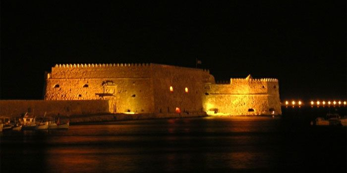 Koules Fortress in Heraklion, Crete