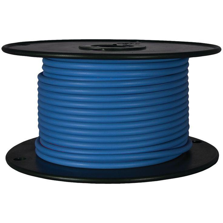 Battery Doctor Gxl Crosslink Wire 100ft Spool (16 Gauge Blue)   AUTO ...