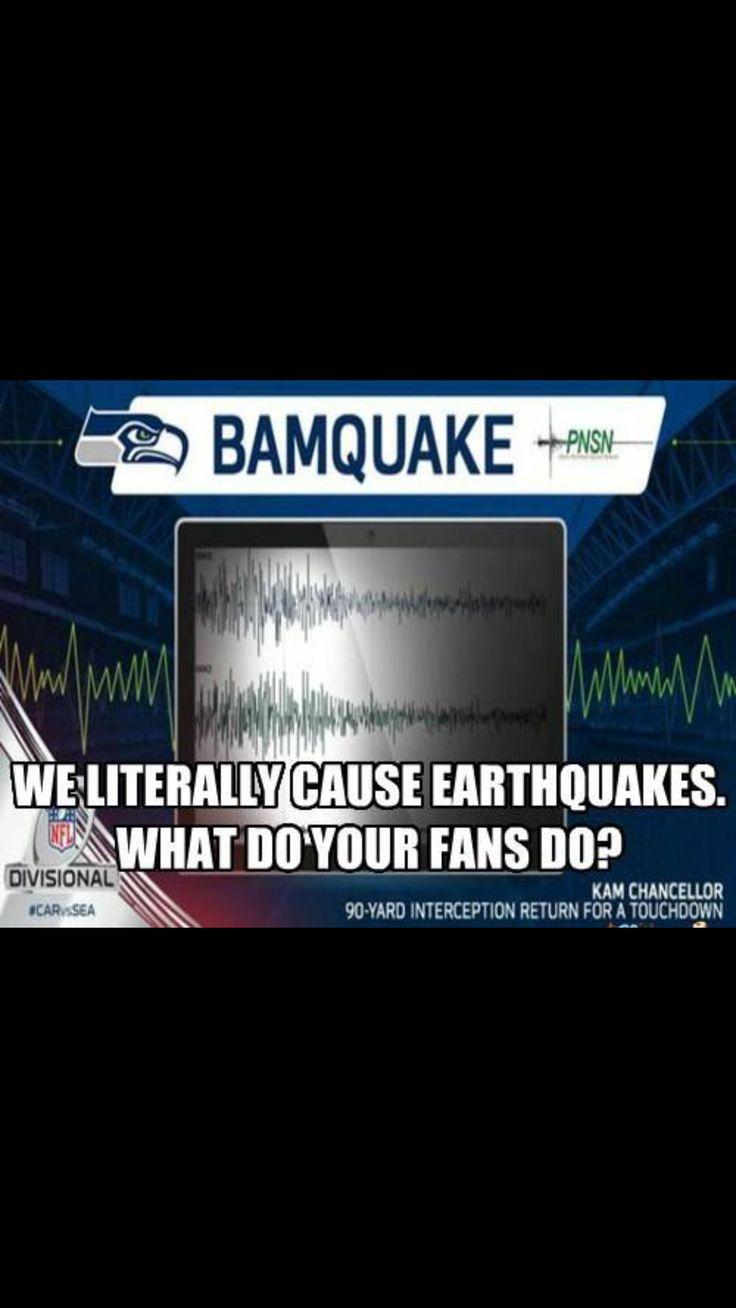 Seattle Seahawks bamquake