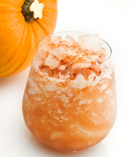 Pumpkin infused vodka - I believe I could survive off of this concoction.