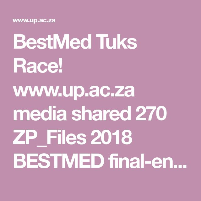BestMed Tuks Race!  www.up.ac.za media shared 270 ZP_Files 2018 BESTMED final-entry-form_low-res.zp139722.pdf
