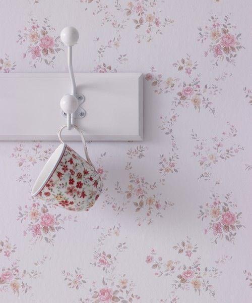 carta da parati per armadio | Petit fleur (carta da parati country chic) / I…