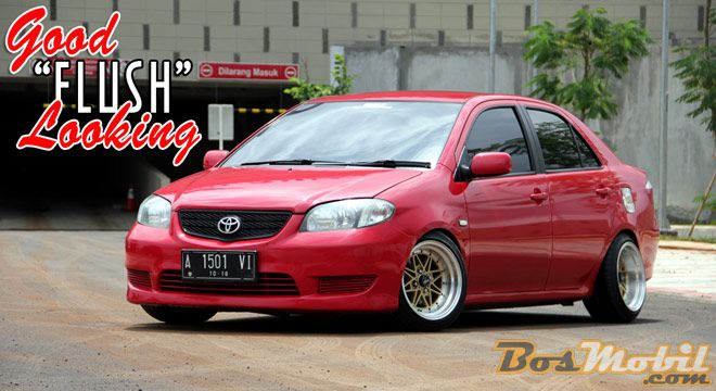 Modifikasi Toyota Vios : Good Flush Looking #mobilmodifikasi #bosmobil #fyi