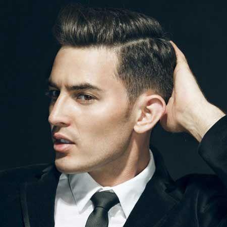 Mens haircut short back and sides