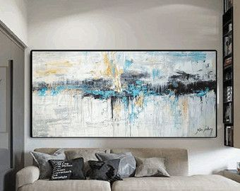 grosse bilder fürs wohnzimmer beste pic und bfbefffbbbabff blue abstract painting abstract art paintings