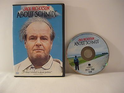 About Schmidt DVD WIDESCREEN Drama Movie Jack Nicholson Hope Davis Kathy Bates