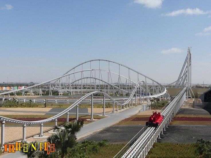 Formula Rossa (Ferrari World Abu Dhabi) 0-141.1 mph in FOUR seconds