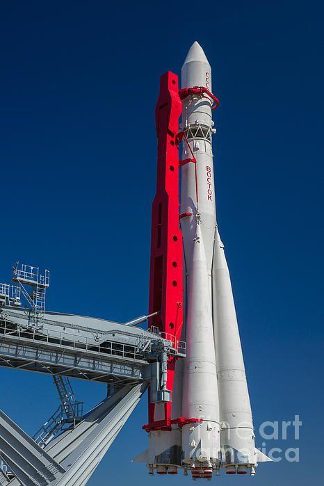Spacecraft Vostok-1 - East-1 - Of Yury Gagarin