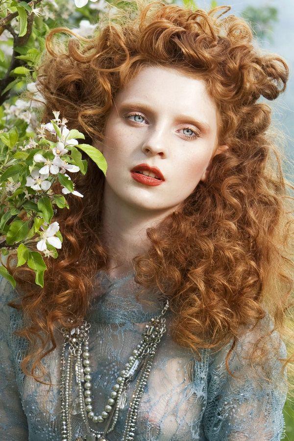 Goddess hippie redhead