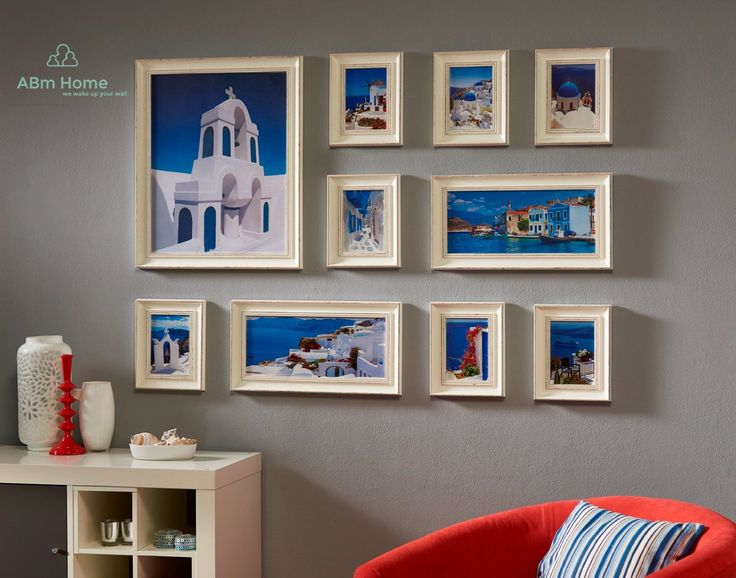 10 Multi Picture Frame Set, Photo Frame, Wall Frame Set with 10 High Quality Frames, Large photo frame wall set, Covers 1.35m x 1m, Best Wall Decorations, Vintage Picture Frameses (B2020): Amazon.co.uk: Kitchen & Home