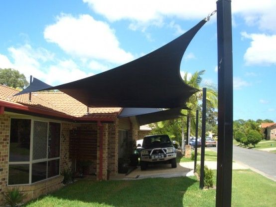 Shade Sails by All Shade Solutions – Perfect To Create Shade in Your Courtyard | Home Decor