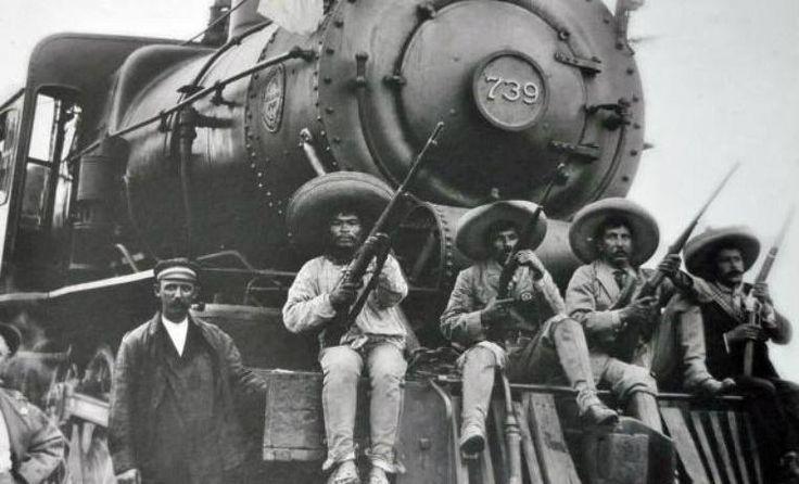 Revolucionarios mexicanos.