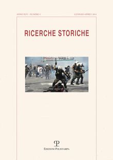 Special Issue about Public History in Greece is out ! See Ricerche Storiche