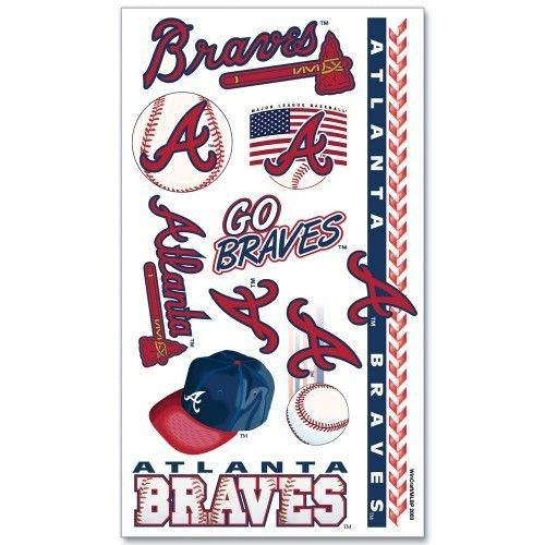 MLB Atlanta Braves Tattoos