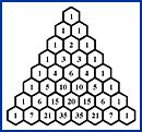 Math Forum: Pascal's Triangle.  This website is part of the massive MathForum.org and offers free lessons and activities to explore Pascal's Triangle, a math resource known for patterns and applications in several areas of mathematics.