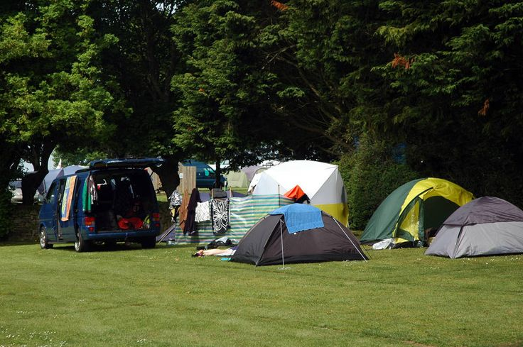 Newquay is home to a wealth of quirky campsites.
