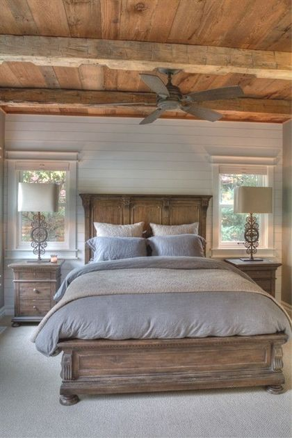 Rustic Bedroom Bedroomfurniture Country Master Cozy Ideas Dark