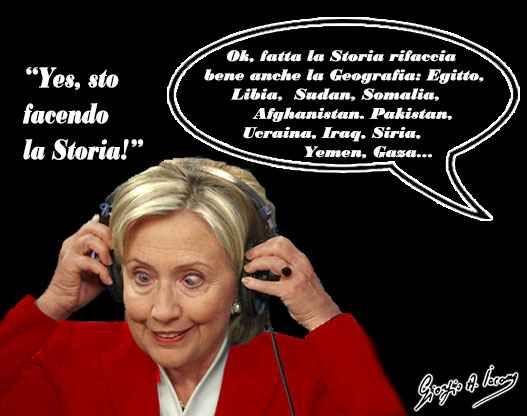 """La Clinton si sta preparando sulla Storia La candidata democratica a Philadelphia: """"Facciamo la storia"""". Con lei sul palco il presidente uscente, Bon Jovi e Bruce Springsteen. Tour de force negli Stati in bilico anche per Trump: """"Hillary è i #hillaryclinton #donaldtrump"""